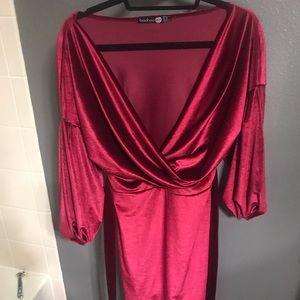 Velvet dress never worn